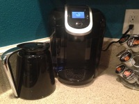 my new coffee machine