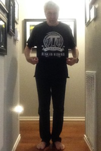 pi shirt model